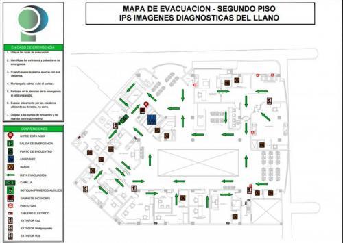 Mapa de evacuación 2