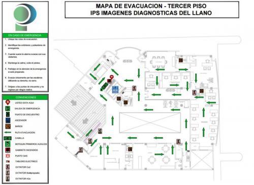Mapa de evacuación 3